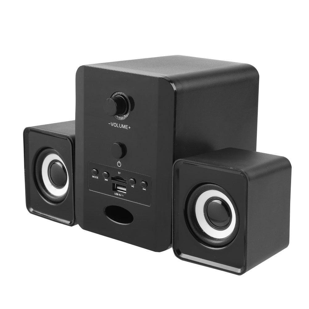 Mini-Computer-Speaker-2-1-USB-Bluetooth-Desktop-PC-Laptop-Subwoofer-Audio-System miniature 50