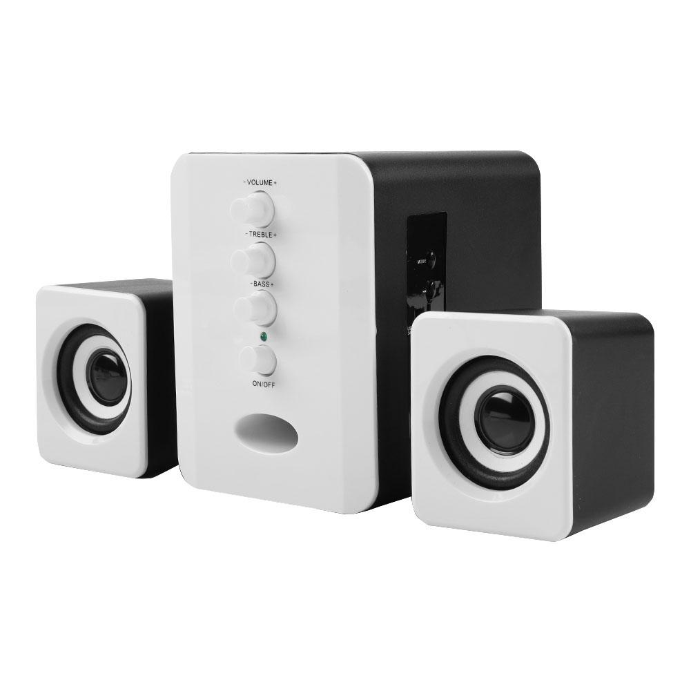 Mini-Computer-Speaker-2-1-USB-Bluetooth-Desktop-PC-Laptop-Subwoofer-Audio-System miniature 64