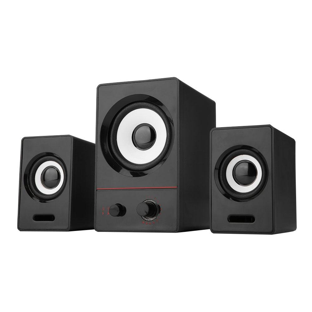 Mini-Computer-Speaker-2-1-USB-Bluetooth-Desktop-PC-Laptop-Subwoofer-Audio-System miniature 17