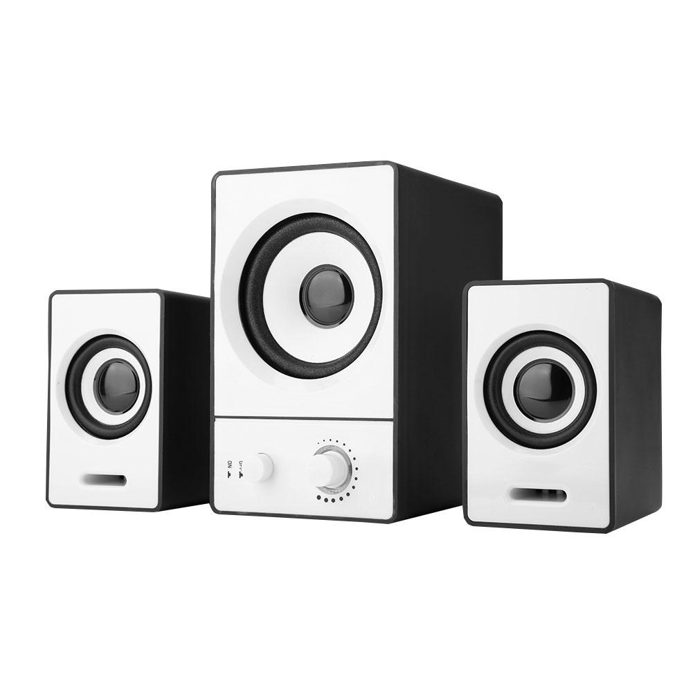 Mini-Computer-Speaker-2-1-USB-Bluetooth-Desktop-PC-Laptop-Subwoofer-Audio-System miniature 24