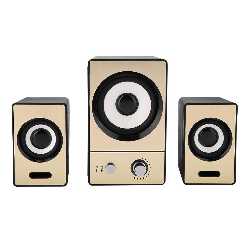 SADA-Bluetooth-Computer-Speaker-Desktop-Laptop-PC-Stereo-Subwoofer-Multimedia thumbnail 100