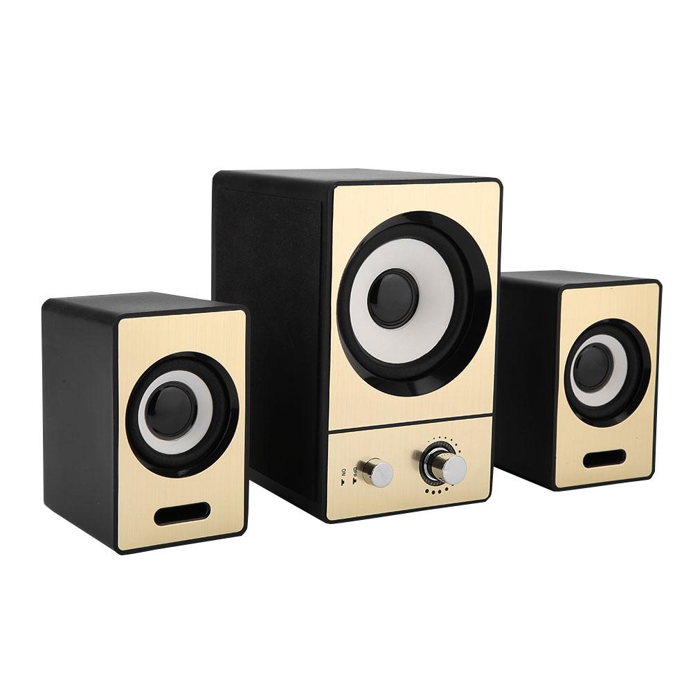 SADA-Bluetooth-Computer-Speaker-Desktop-Laptop-PC-Stereo-Subwoofer-Multimedia thumbnail 101