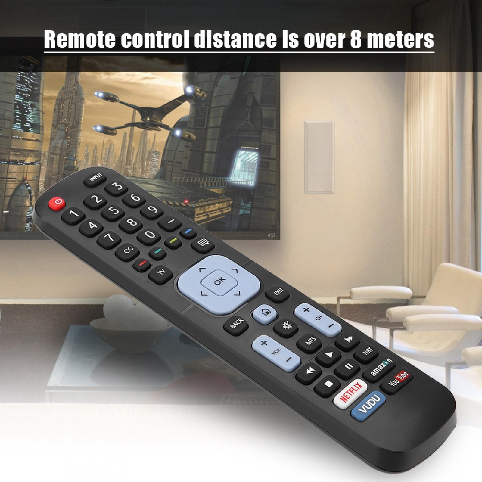 Indexbild 182 - Universal TV Remote Control for Sony Sharp Philips TCL Toshiba Hisense Hitachi