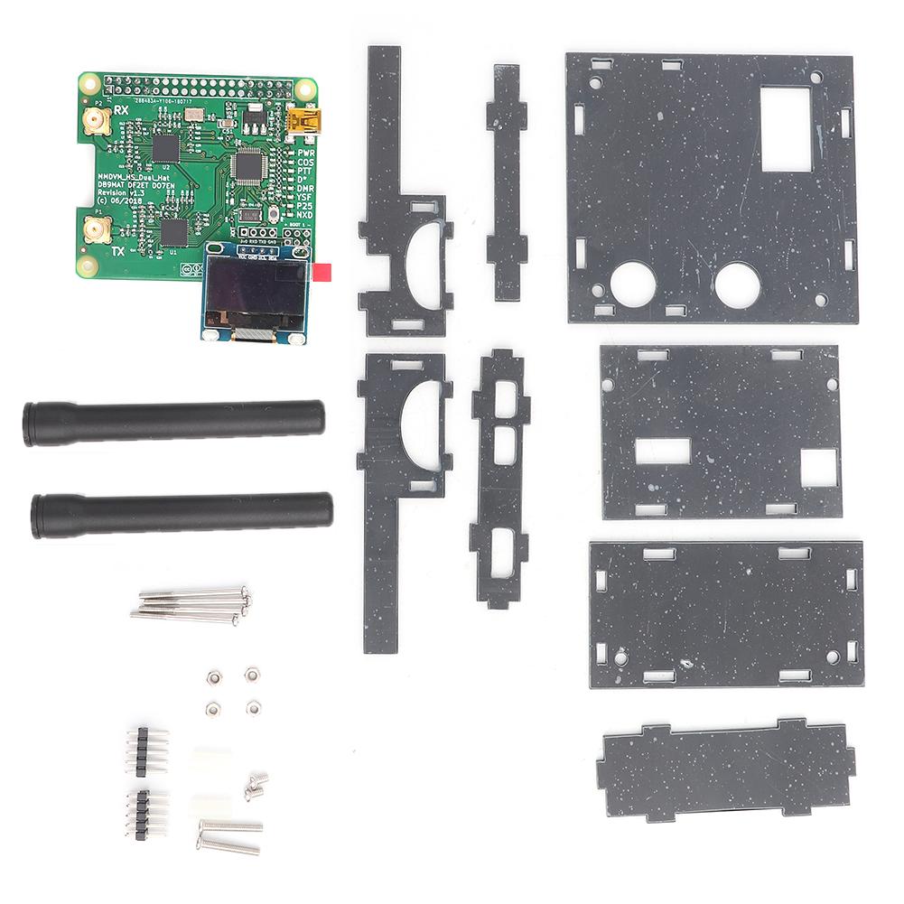 MMDVM-Hotspot-Module-Antenna-OLED-Case-DIY-Kit-P25-DMR-D-Star-for-Raspberry-Pi thumbnail 14