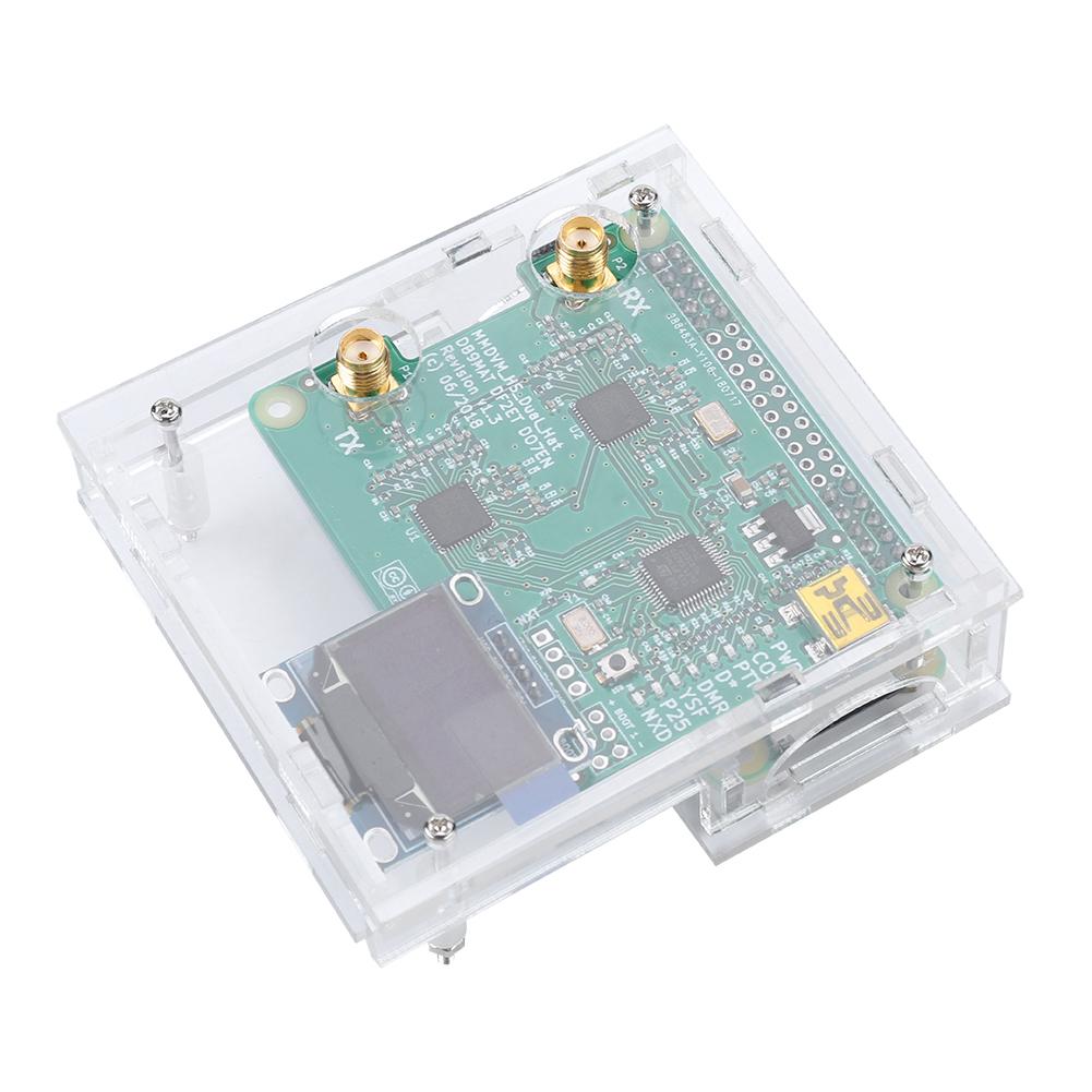 MMDVM-Hotspot-Module-Antenna-OLED-Case-DIY-Kit-P25-DMR-D-Star-for-Raspberry-Pi thumbnail 17