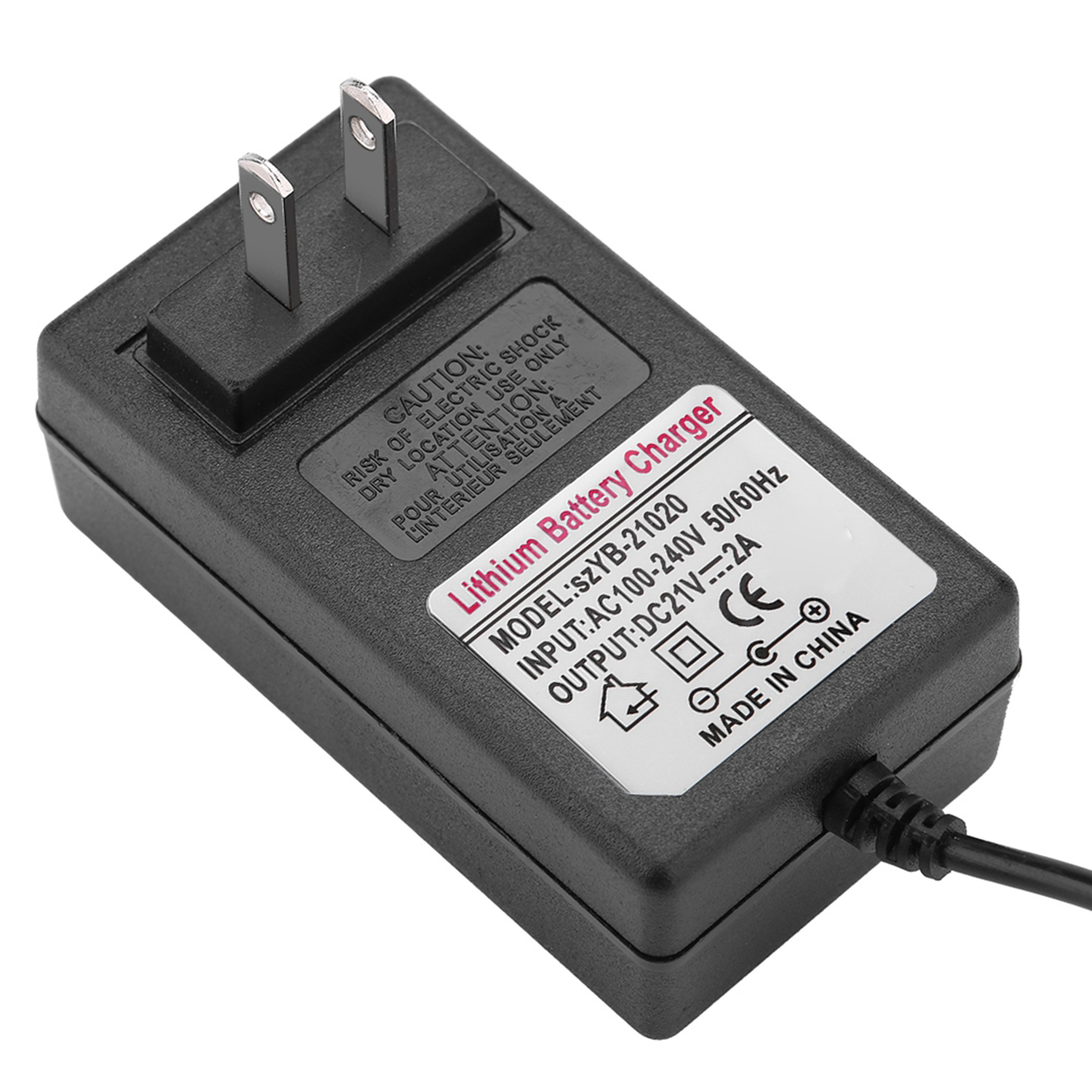 AC-DC-16-8V-21V-2A-Charger-Adapter-for-4S-18650-Li-ion-LiPo-Lithium-Battery-Pack thumbnail 23