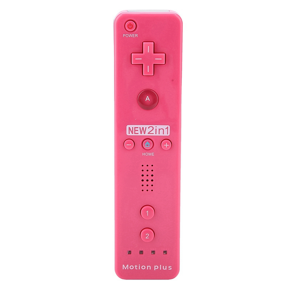 Built-in-Motion-Plus-Remote-Nunchuck-Controller-Cover-Case-for-Nintendo-Wii-WiiU miniature 44