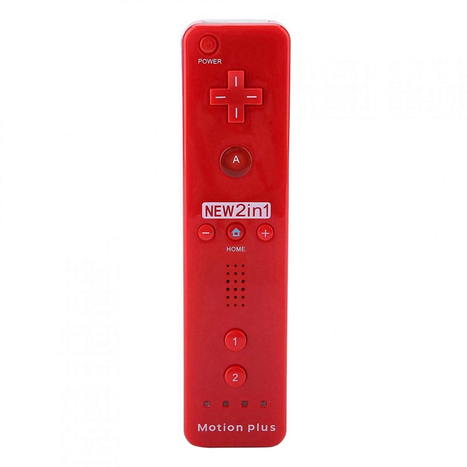 Built-in-Motion-Plus-Remote-Nunchuck-Controller-Cover-Case-for-Nintendo-Wii-WiiU miniature 47