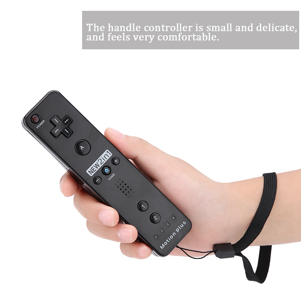 For-Nintendo-WII-WII-U-Built-in-Motion-Plus-Remote-Nunchuck-Controller-Case miniature 78