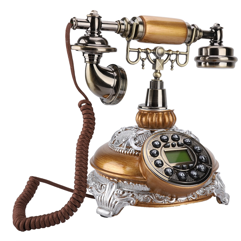 Retro Vintage Home Corded Office Telephone Phone Caller ID