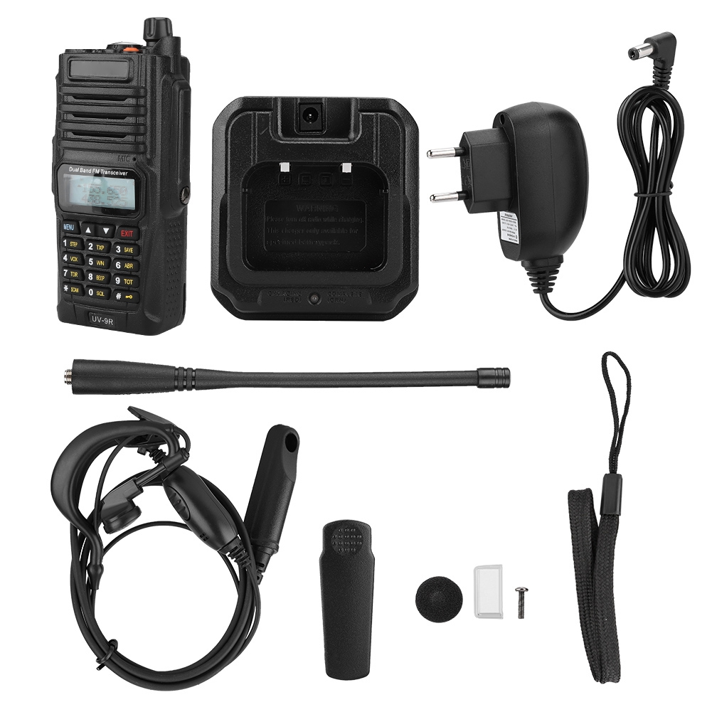 UHF-VHF-Dual-Band-Walkie-Talkie-Intercom-Radio-for-Baofeng-UV-82-UV9R-UV9R-Plus thumbnail 31