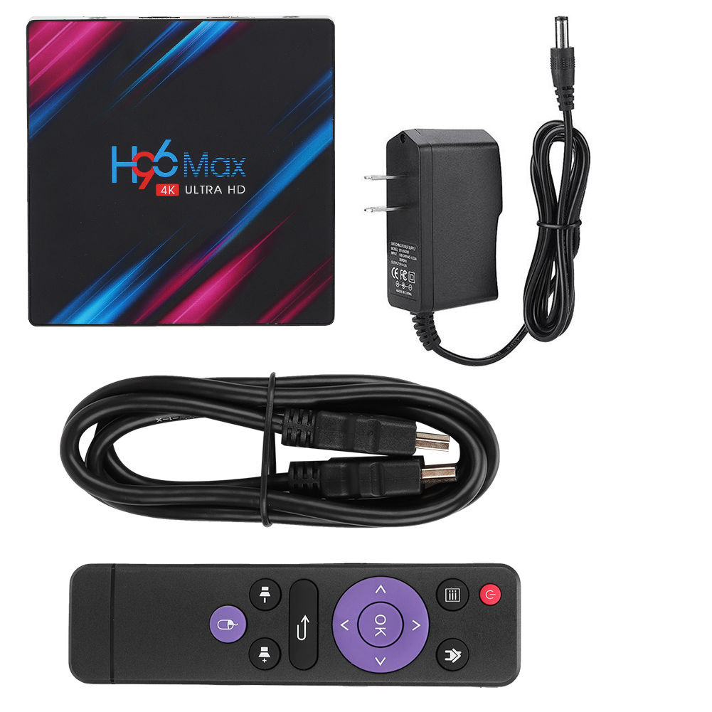 H96-Max-Android-9-0-Intelligent-TV-Box-128G-Quad-Core-4K-HD-WiFi-Media-Player miniature 16
