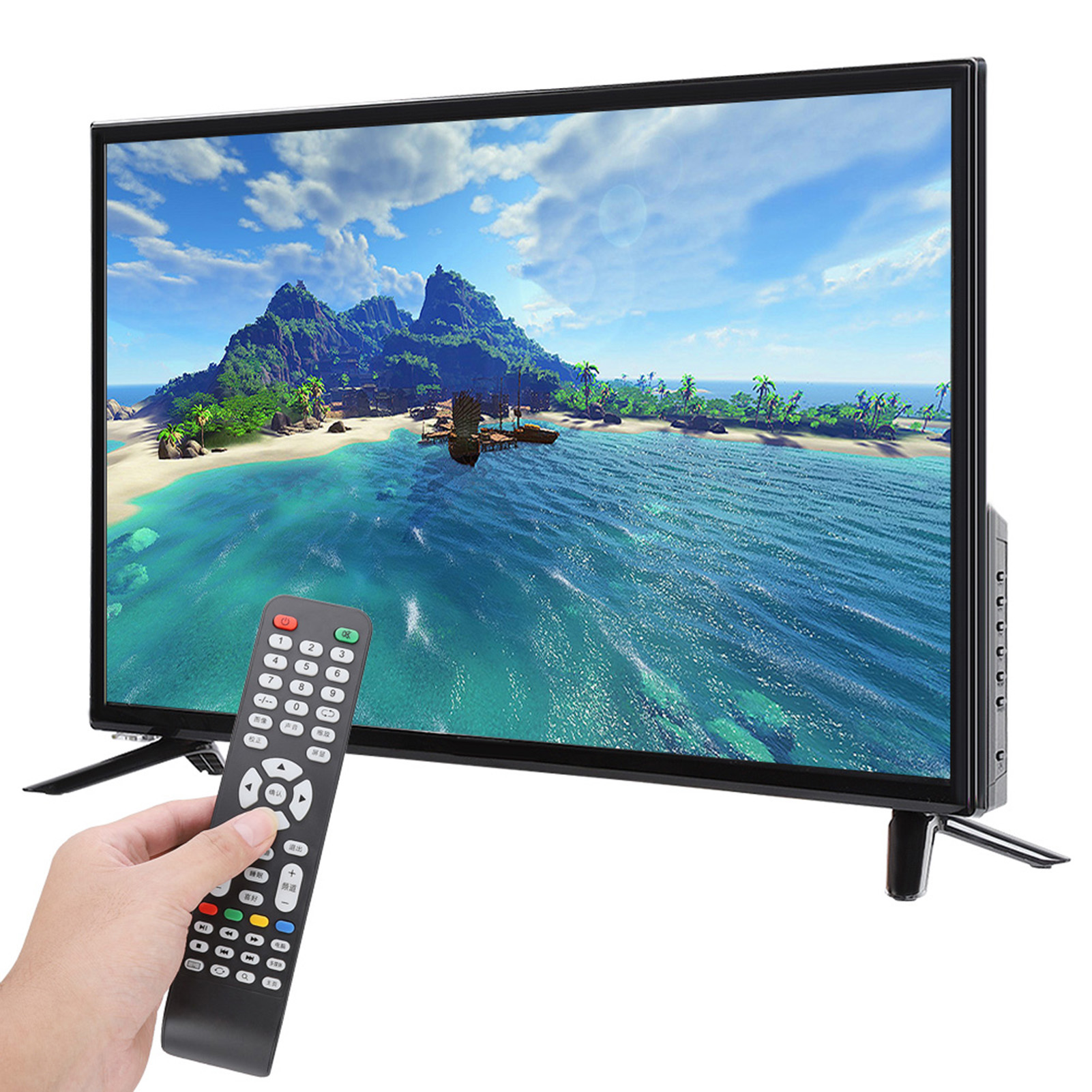 43inch-4K-WiFi-Network-HD-Smart-LCD-TV-HDR-Flat-Screen-Television-HDMI-USB-60HZ miniature 42