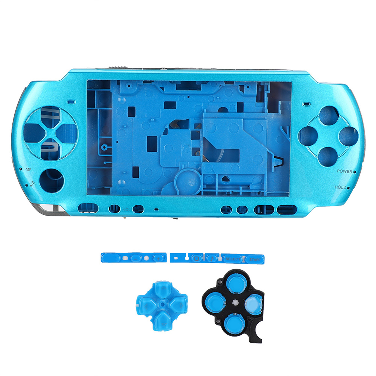 Housing-Shell-Faceplate-Case-Cover-Replace-For-PS-P-1000-2000-3000-Game-Console miniature 51