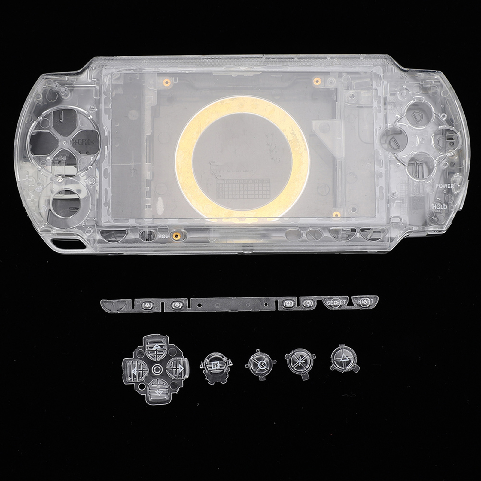 Housing-Shell-Faceplate-Case-Cover-Replace-For-PS-P-1000-2000-3000-Game-Console miniature 15