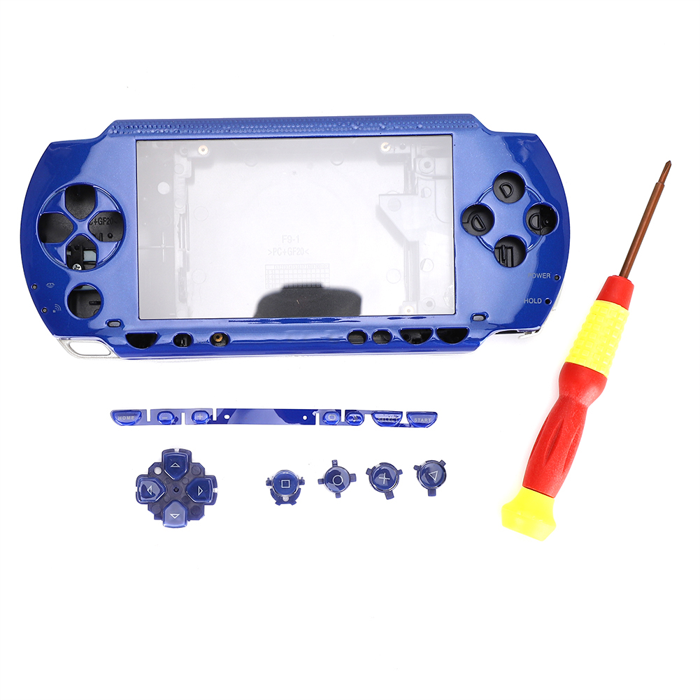 Housing-Shell-Faceplate-Case-Cover-Replace-For-PS-P-1000-2000-3000-Game-Console miniature 24