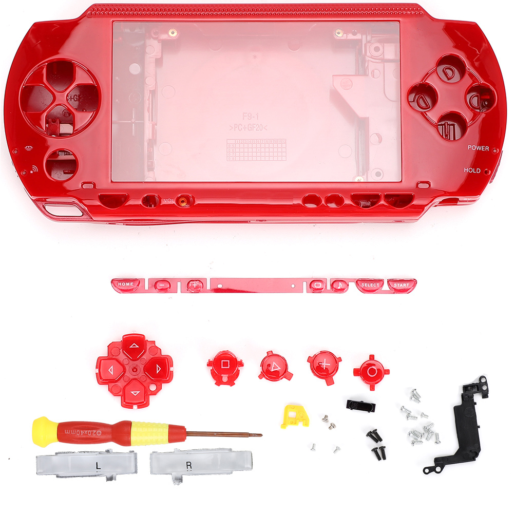 Housing-Shell-Faceplate-Case-Cover-Replace-For-PS-P-1000-2000-3000-Game-Console miniature 26