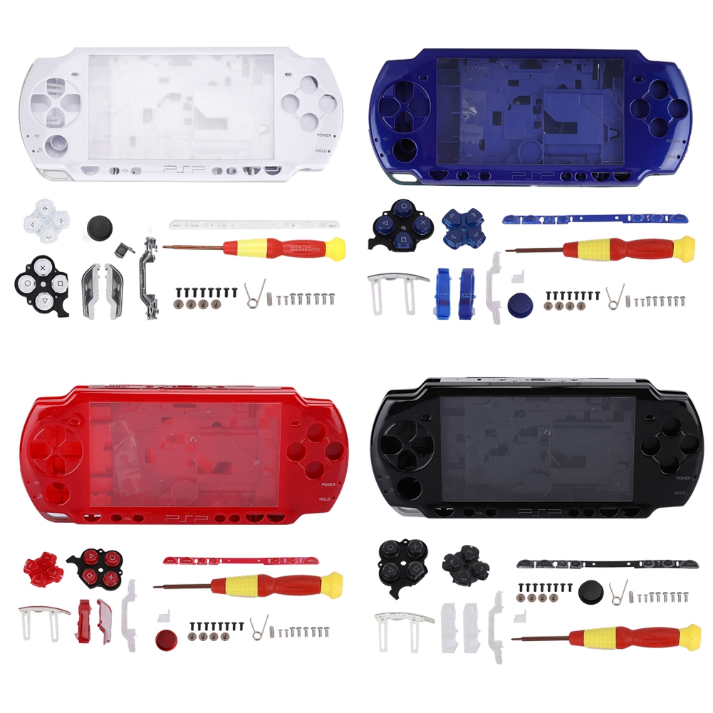Details about Housing Shell Case Buttons Screwdriver Replacement for Sony  PS P Game Console SS