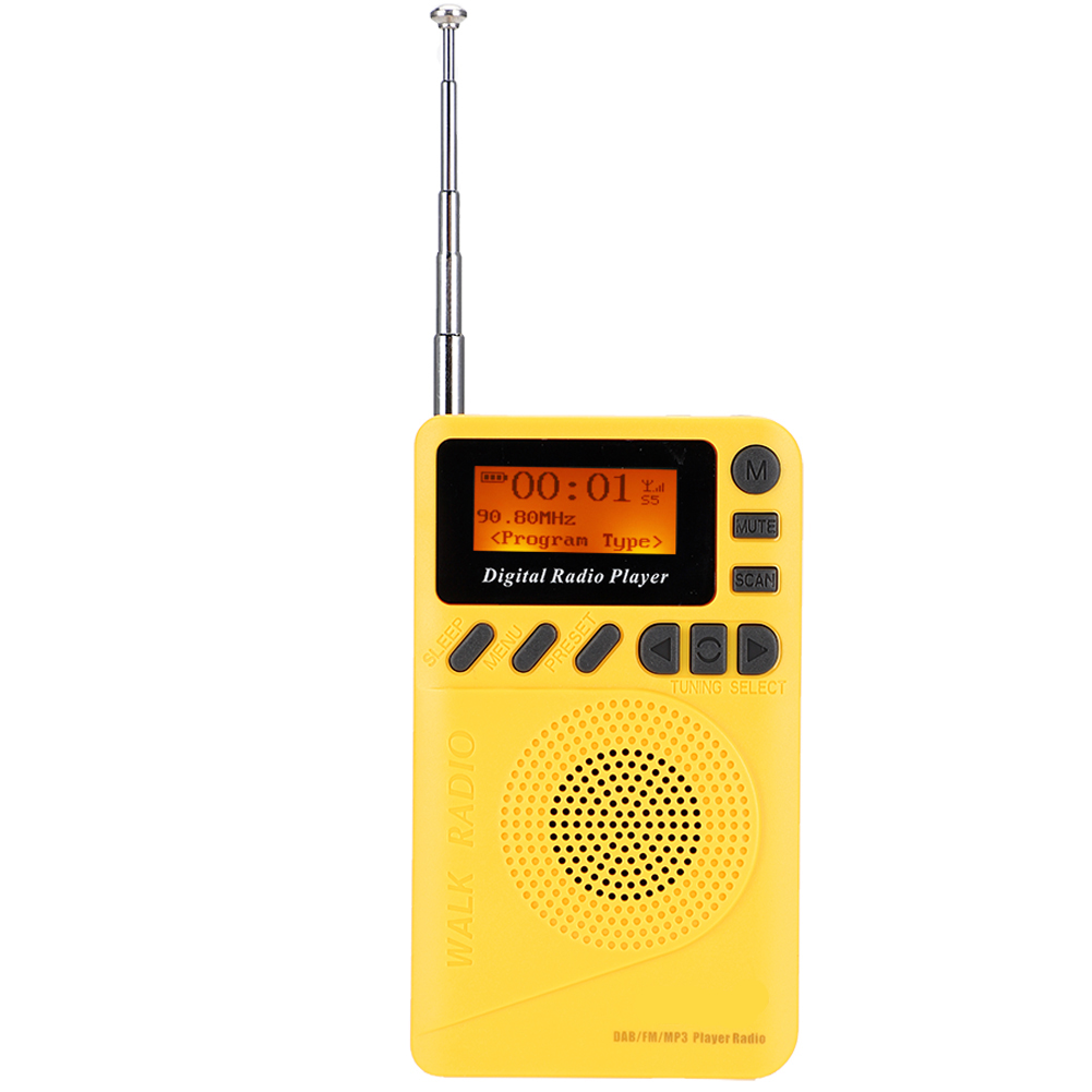 Portable-Digital-World-Full-Band-Radio-Receiver-FM-MW-SW-DAB-Radio-MP3-Player thumbnail 22