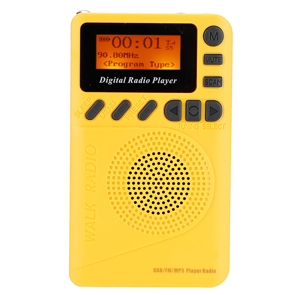 Portable-Digital-World-Full-Band-Radio-Receiver-FM-MW-SW-DAB-Radio-MP3-Player thumbnail 25