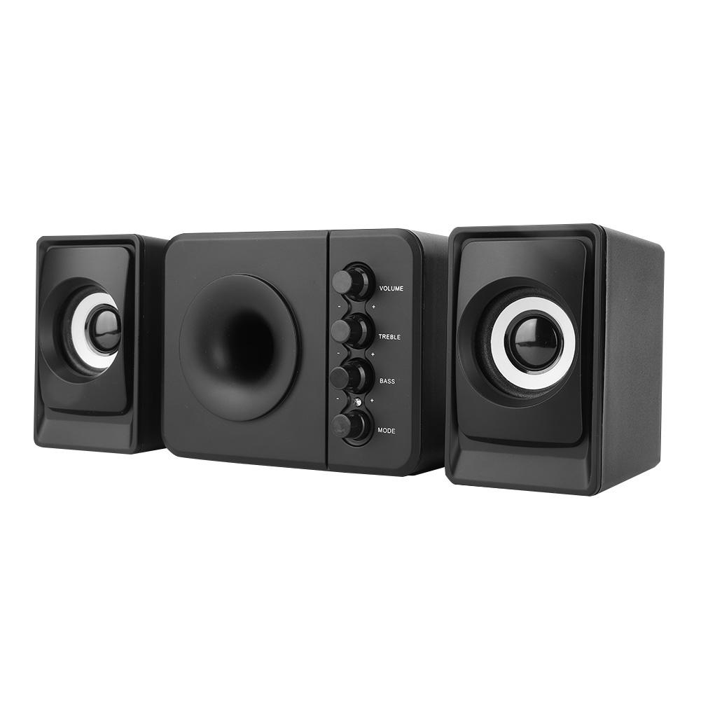 SADA-Bluetooth-Computer-Speaker-Desktop-Laptop-PC-Stereo-Subwoofer-Multimedia thumbnail 76