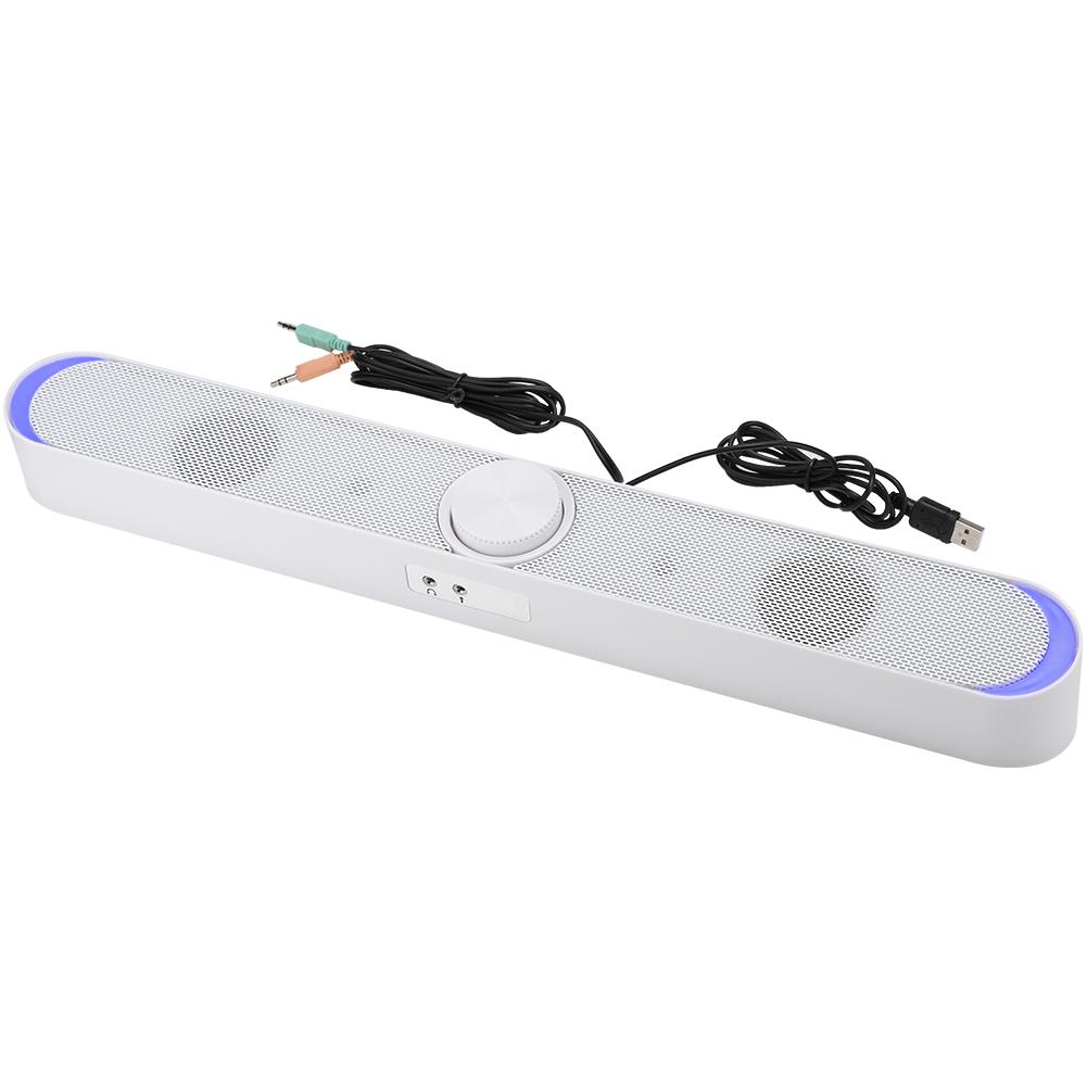SADA-Bluetooth-Computer-Speaker-Desktop-Laptop-PC-Stereo-Subwoofer-Multimedia thumbnail 14
