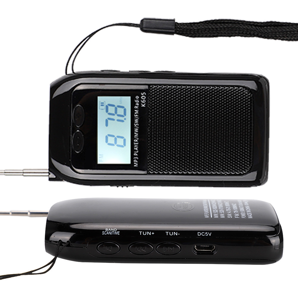 Portable-Digital-World-Full-Band-Radio-Receiver-FM-MW-SW-DAB-Radio-MP3-Player thumbnail 15