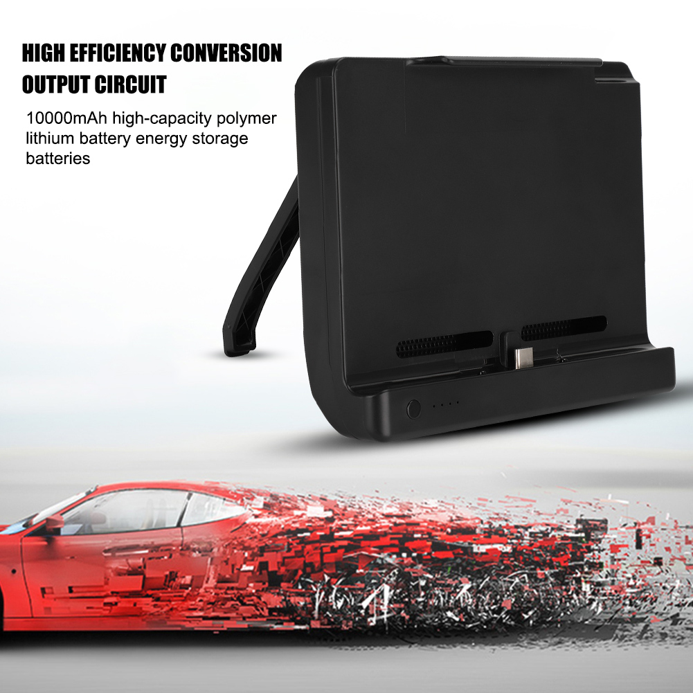 10000mAh-Battery-Charger-Case-Power-Bank-Cover-Stand-Holder-for-Nintendo-Switch 縮圖 3