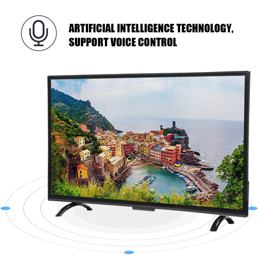 32-034-43-034-55-034-4K-HD-SMART-LED-TV-WiFi-pantalla-curvada-Ethernet-television-Android miniatura 23