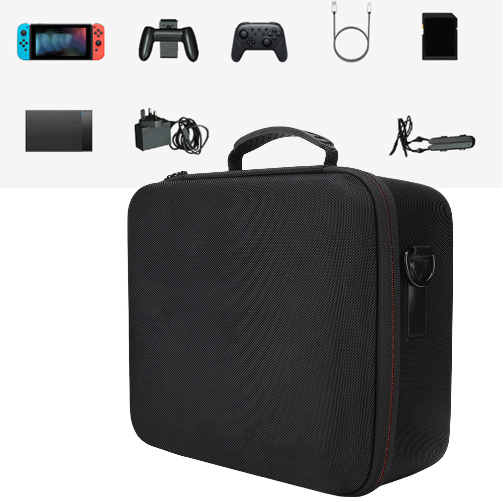 Game-Console-Storage-Bag-Organizer-Protective-Carrying-Case-Cover-For-Nintendo thumbnail 3