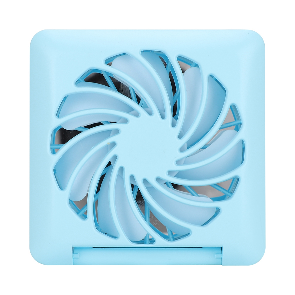 Portable-Mini-Fan-with-Makeup-Mirror-amp-Phone-Stand-Handheld-Mobile-Phone-Bracket thumbnail 21