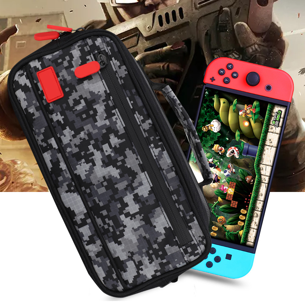 Game-Console-Storage-Bag-Organizer-Protective-Carrying-Case-Cover-For-Nintendo thumbnail 35
