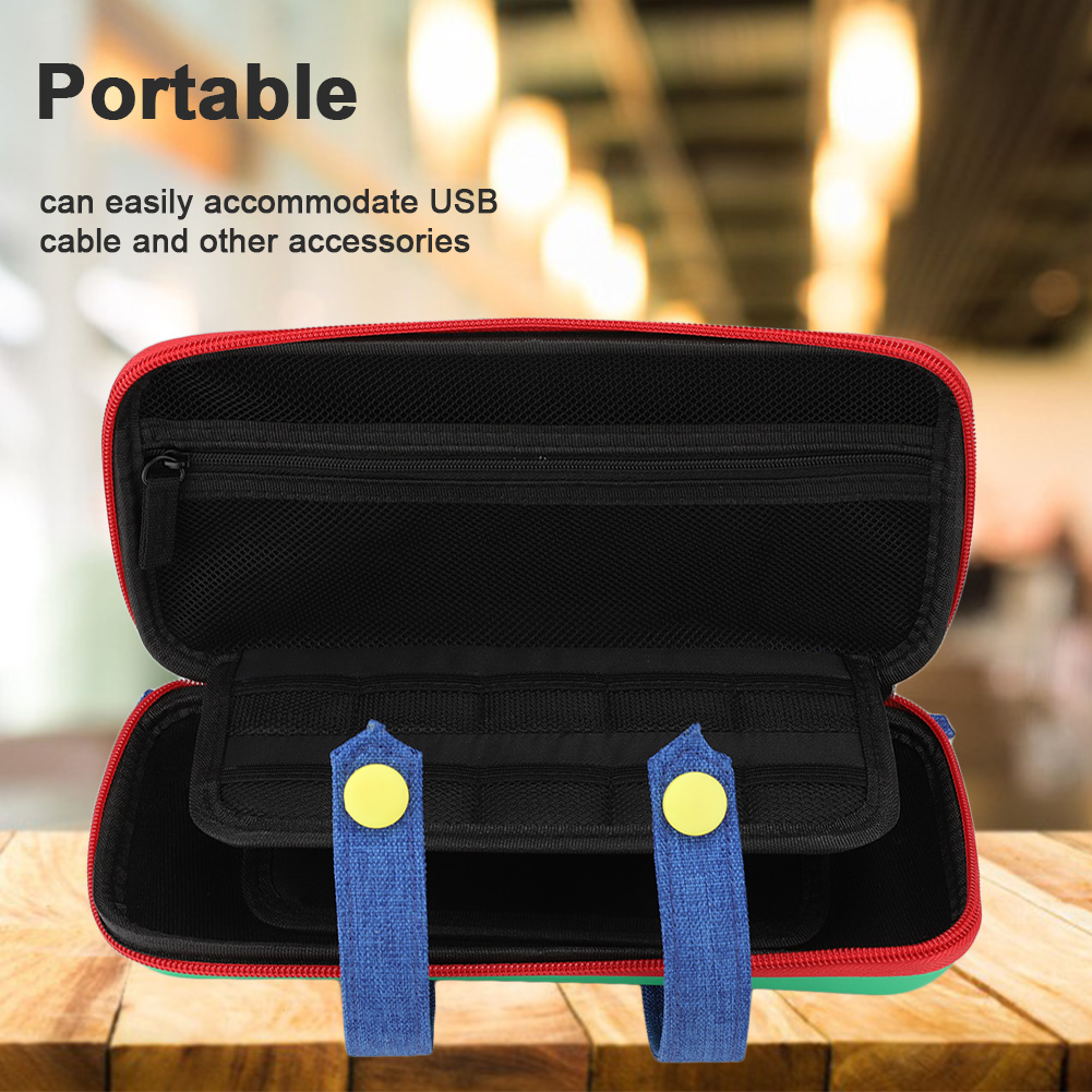 Game-Console-Storage-Bag-Organizer-Protective-Carrying-Case-Cover-For-Nintendo thumbnail 11