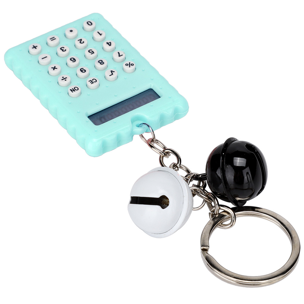 Cute-8-Digits-Electronic-Mini-Pocket-Calculator-Key-chain-Candy-Color-Kids-Gift thumbnail 24