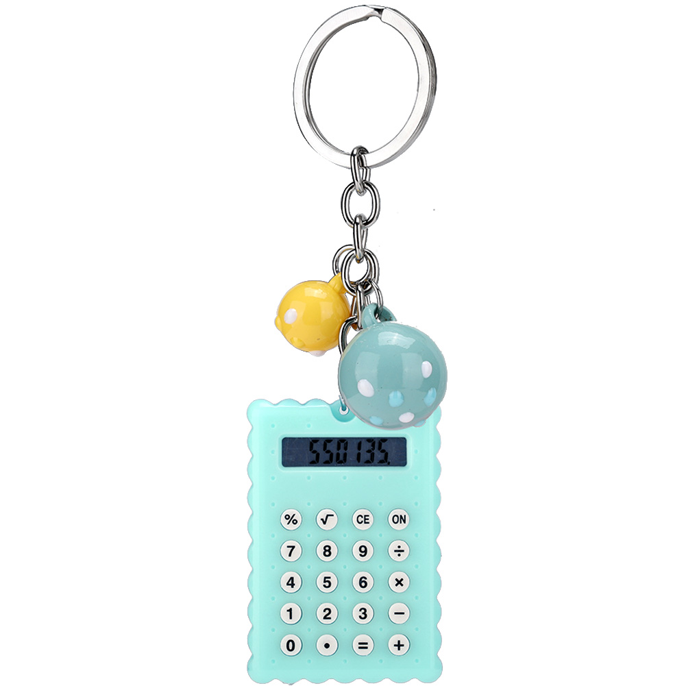 Cute-8-Digits-Electronic-Mini-Pocket-Calculator-Key-chain-Candy-Color-Kids-Gift thumbnail 30