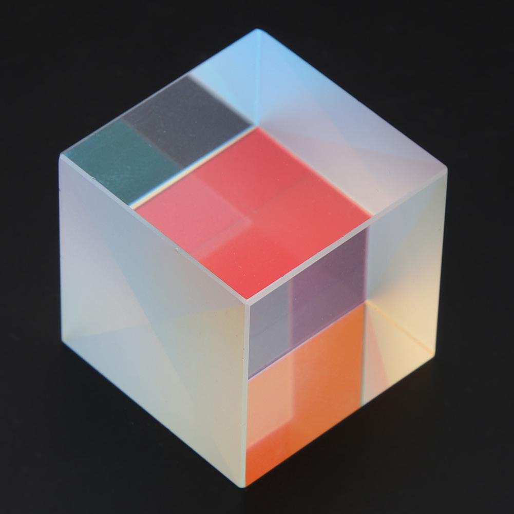 Optical-Glass-Cube-Dichroic-Cube-Prism-RGB-Combiner-Splitter-Teaching-Tool thumbnail 13