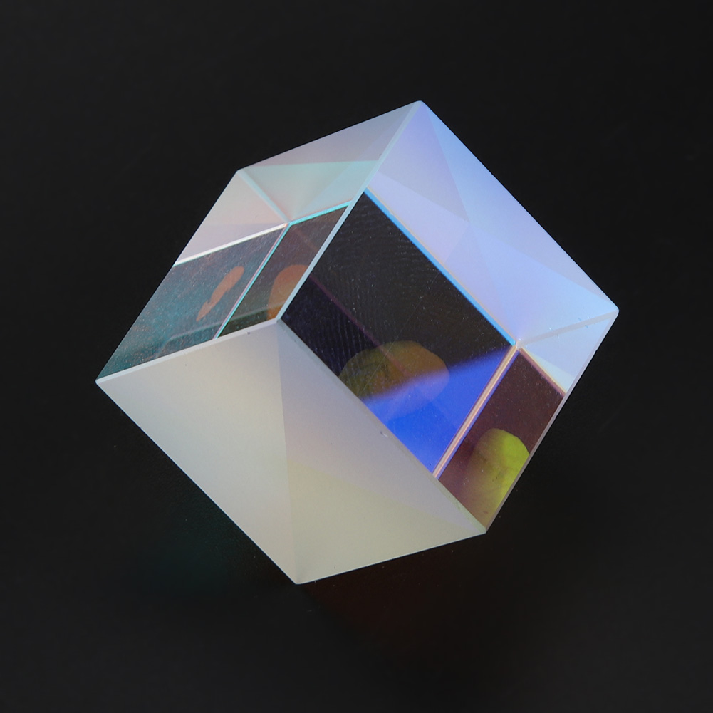 Optical-Glass-Cube-Dichroic-Cube-Prism-RGB-Combiner-Splitter-Teaching-Tool thumbnail 14