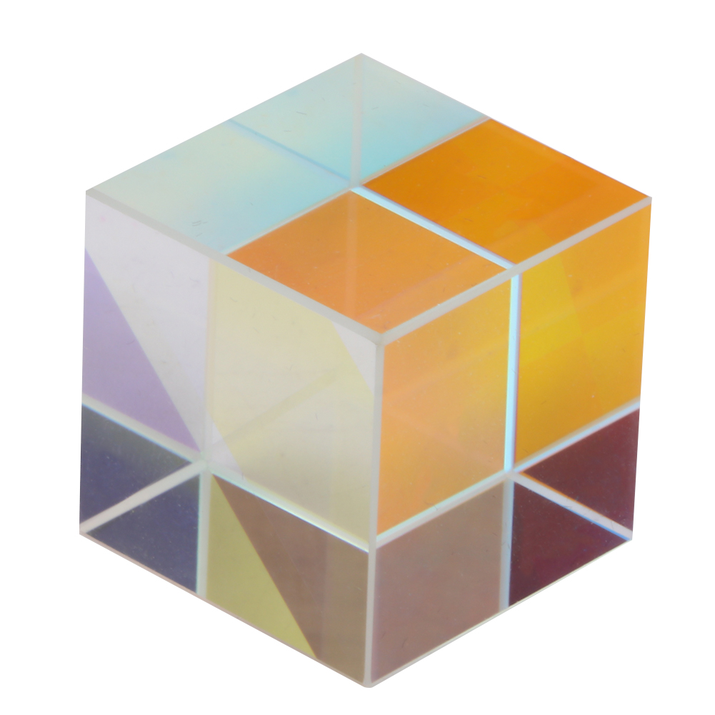6-Sided-Bright-Light-Combine-Cube-Prism-Stained-Optical-Glass-Prism-for-Teaching thumbnail 14