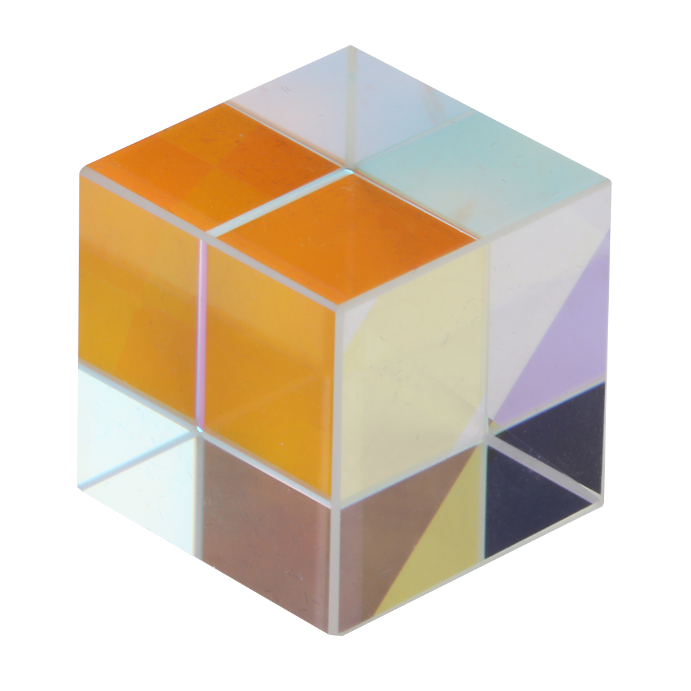 6-Sided-Bright-Light-Combine-Cube-Prism-Stained-Optical-Glass-Prism-for-Teaching thumbnail 15