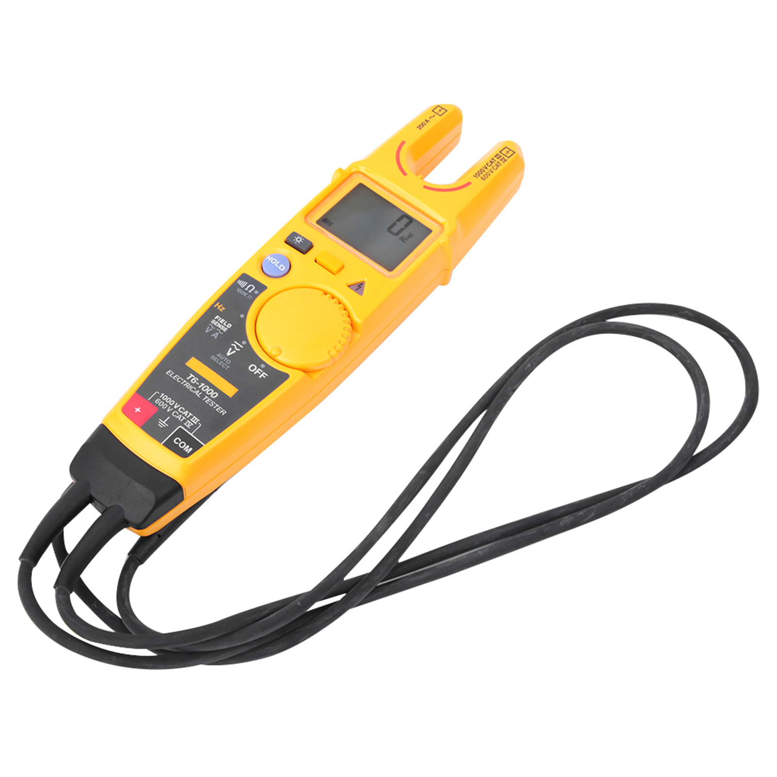 Fluke-T6-600-T6-1000-Electrical-Tester-Non-contact-Voltage-Clamp-Tester miniature 17