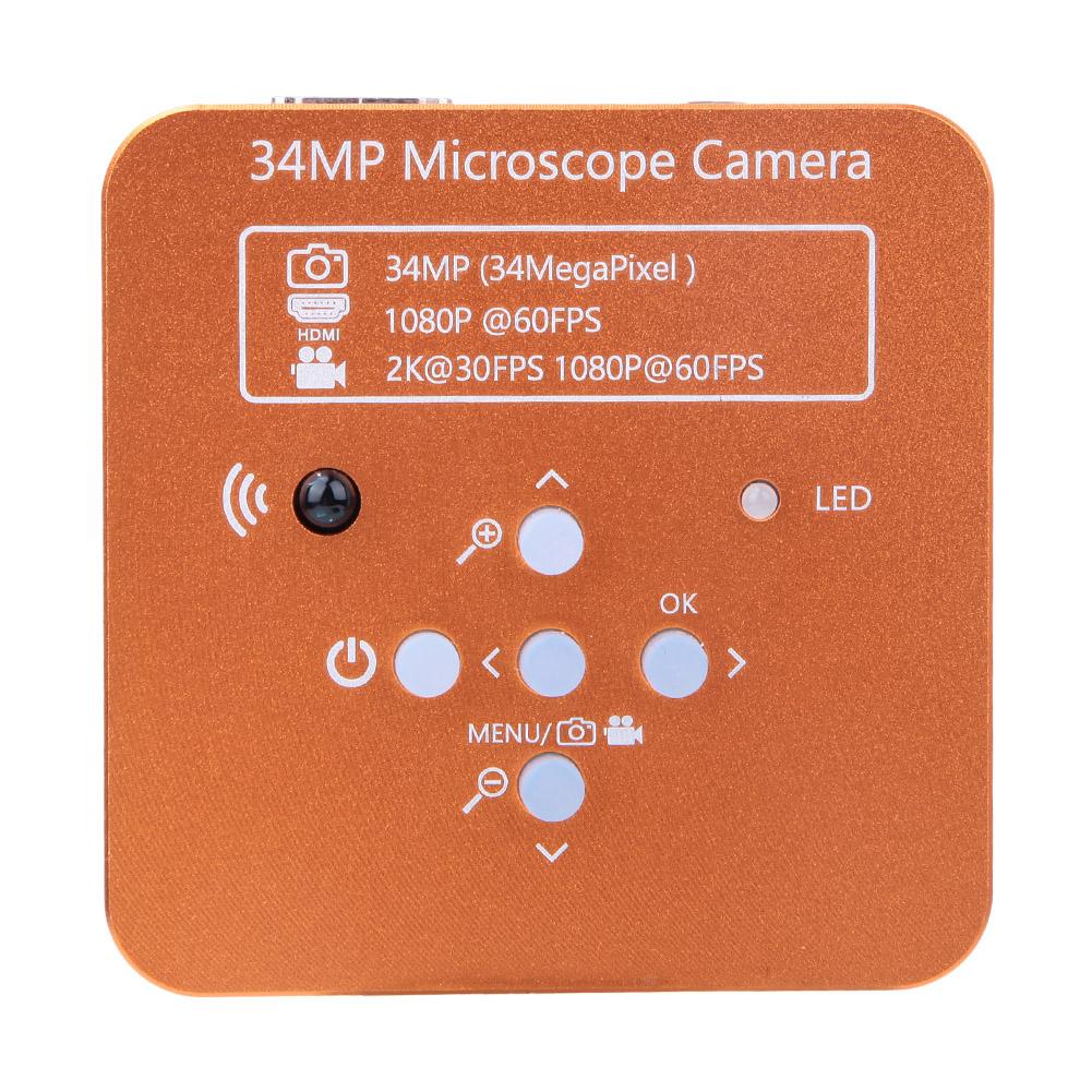 34MP-1080P-HDMI-USB-R-G-B-Adjustable-Industrial-Microscope-Camera-100-240V thumbnail 13