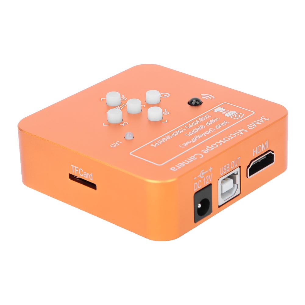 34MP-1080P-HDMI-USB-R-G-B-Adjustable-Industrial-Microscope-Camera-100-240V thumbnail 14