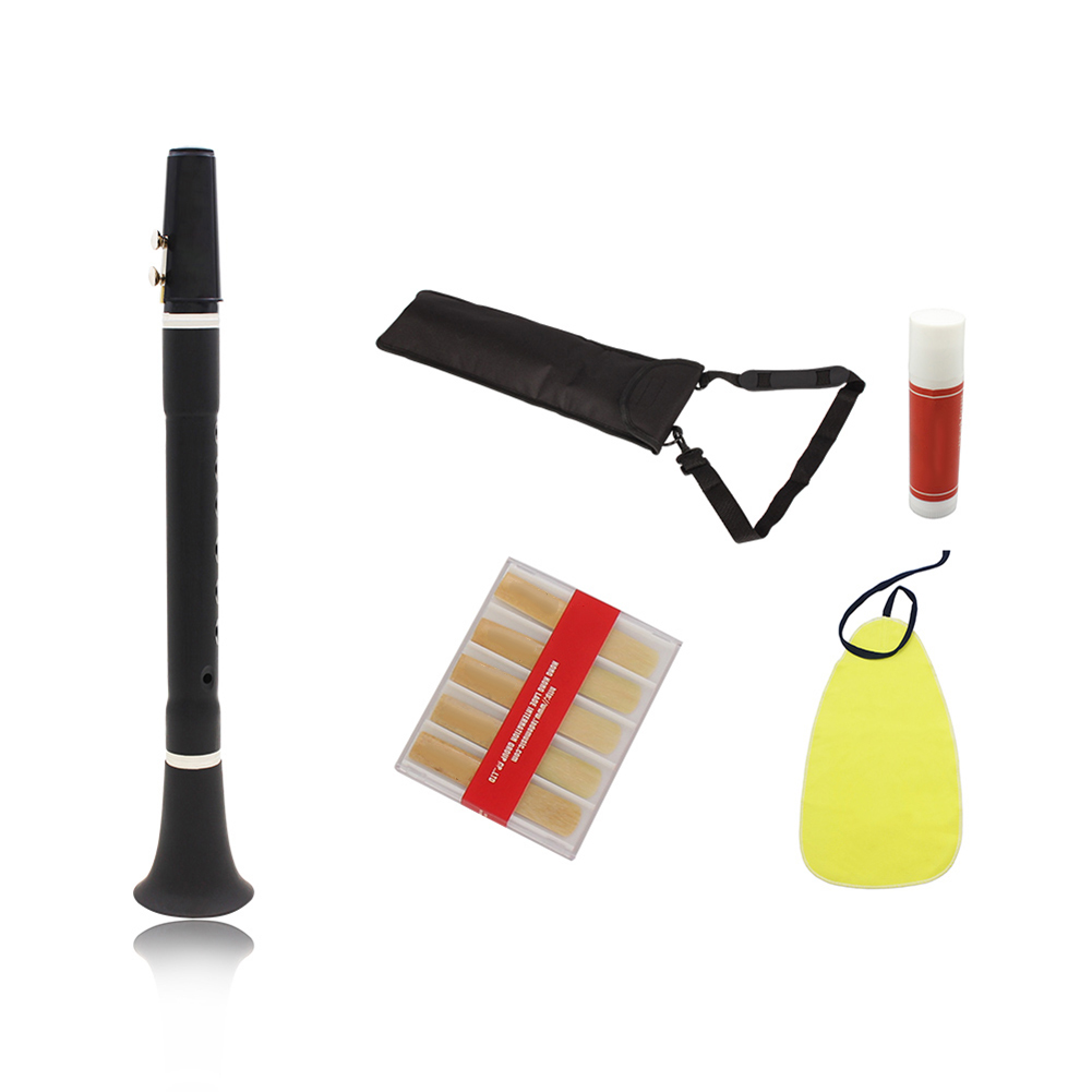LADE-Flat-B-Tone-CLARINET-WITH-BAG-SCHOOL-STUDENT-BEST-QUALITY-REEDS