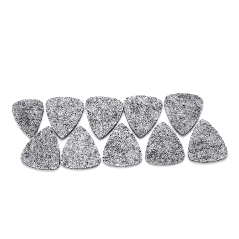 10-Wool-Felt-Guitar-Picks-Acoustic-Electric-Bass-Plectrum-3mm-for-Guitar-Ukulele thumbnail 16
