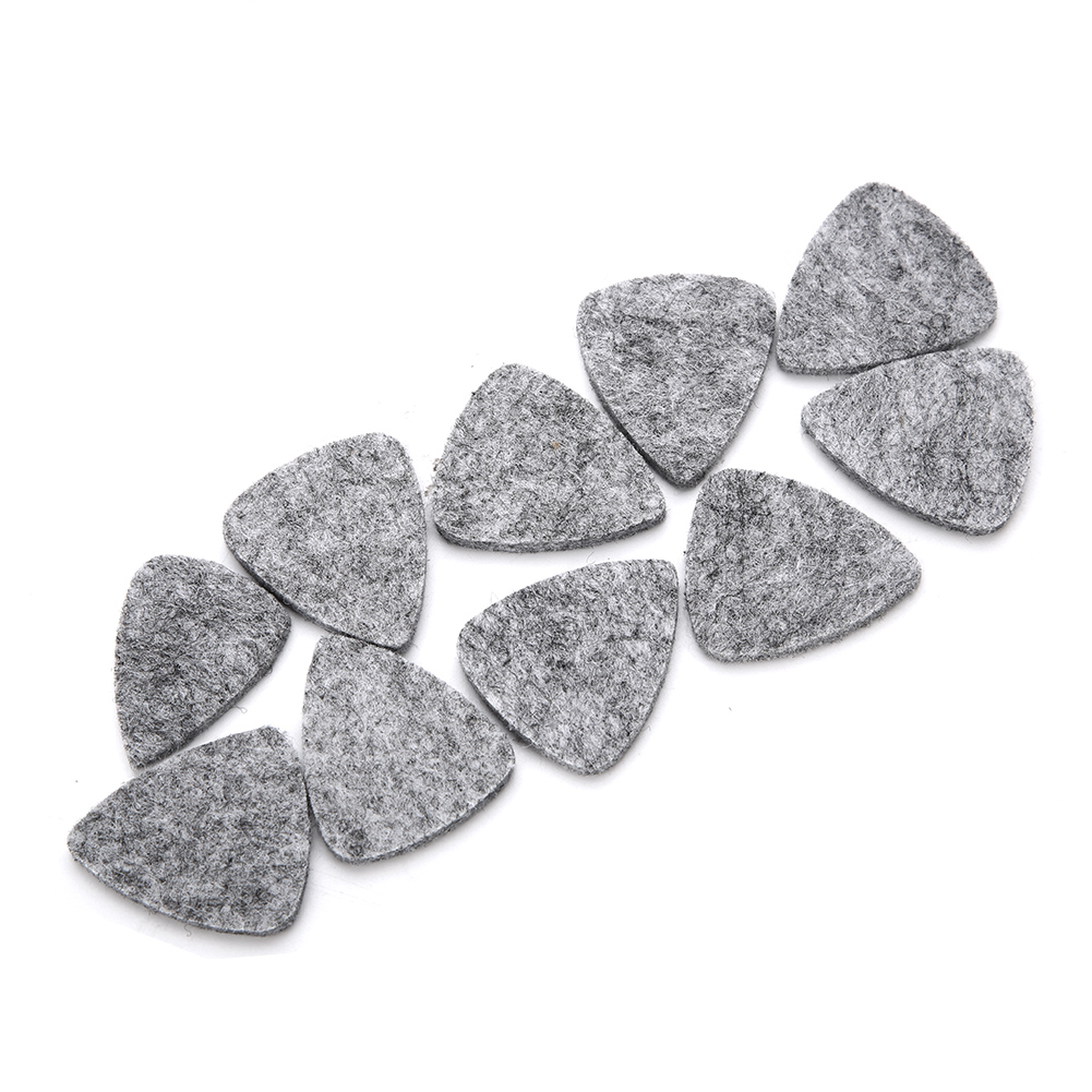 10-Wool-Felt-Guitar-Picks-Acoustic-Electric-Bass-Plectrum-3mm-for-Guitar-Ukulele thumbnail 17