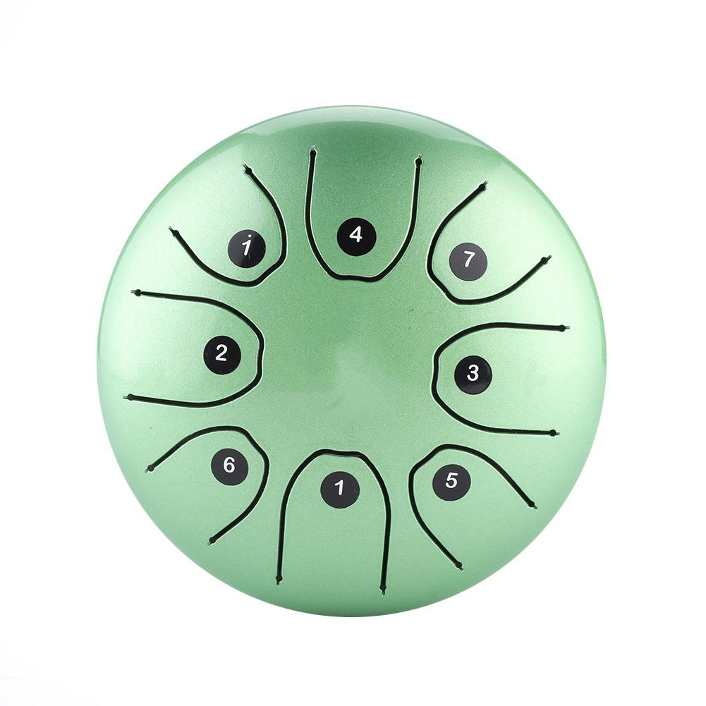 14cm-5-5Inch-Handpan-Drum-Tongue-Tank-Drum-8Notes-C-Major-amp-Mallets-Storage-Bag
