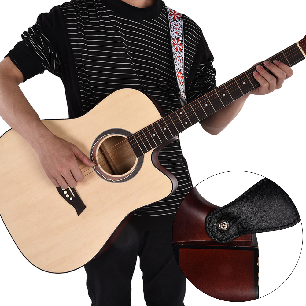 Adjustable-Soft-Strap-Embroidered-Pattern-Belt-for-Classic-Electric-Guitars-Bass thumbnail 13
