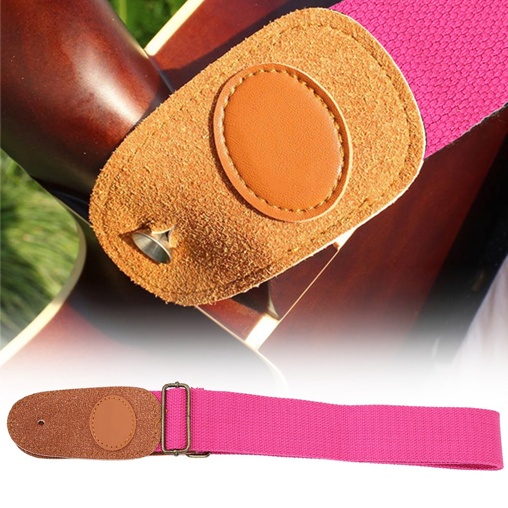 Useful-Universal-Guitar-Strap-Adjustable-for-Electric-Acoustic-Guitar-Bass-New thumbnail 9