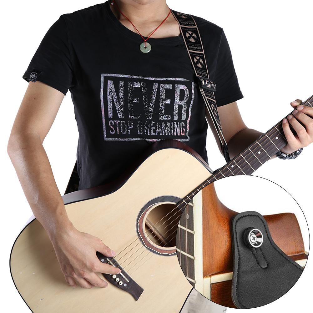 Guitar-Strap-for-Electric-Acoustic-Bass-Adjustable-Soft-Nylon-Webbing-Belt thumbnail 13
