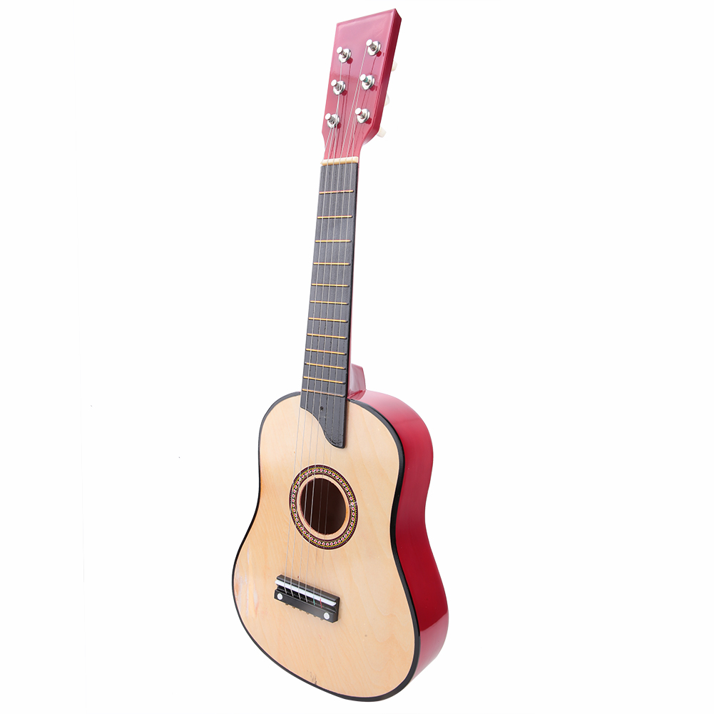 25-Inch-Kids-Acoustic-Guitar-6-String-Musical-Instruments-Toys-Gift-with-Case thumbnail 12